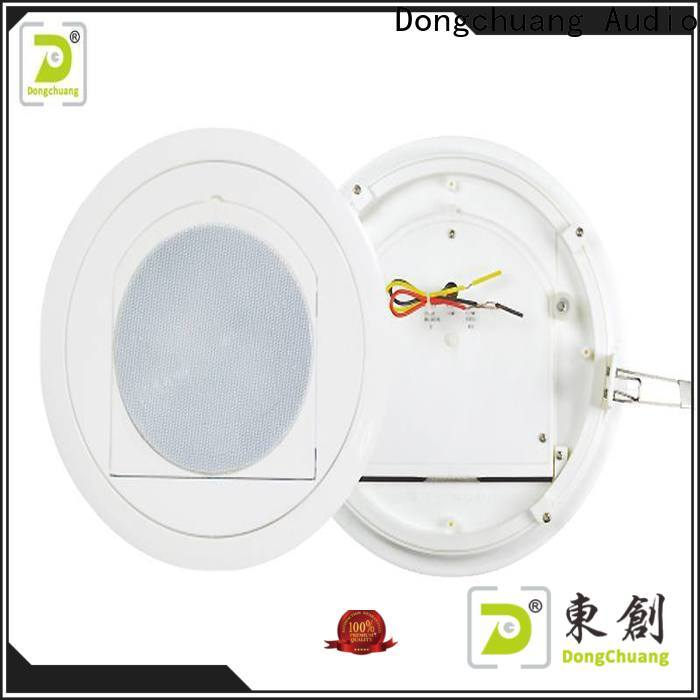 Dongchuang powered ceiling speakers suppliers for karaoke