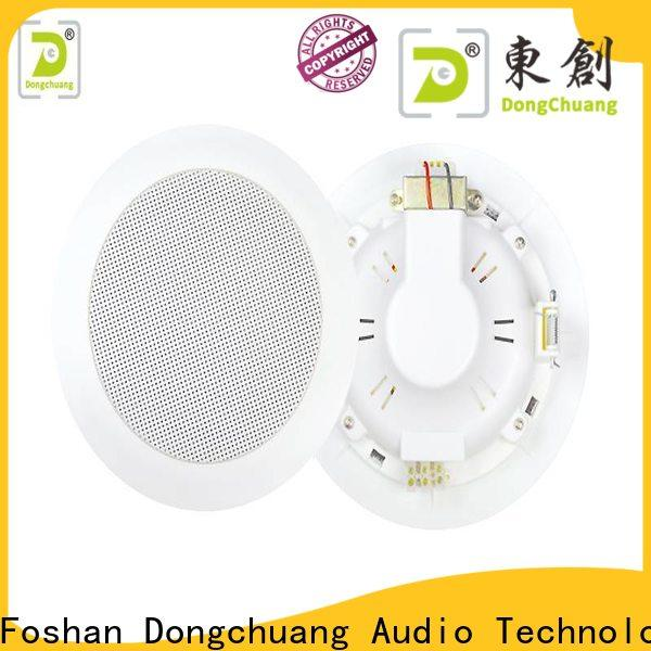 Dongchuang best price best ceiling mount speakers factory direct supply for show