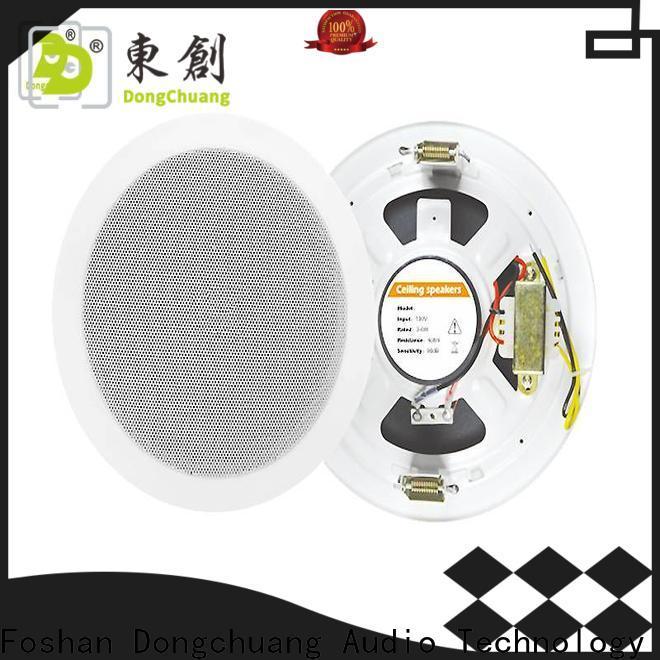 Dongchuang indoor ceiling speakers supplier for karaoke