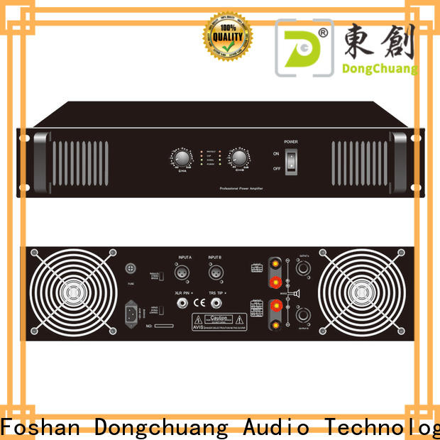 energy-saving best professional amplifier inquire now for business