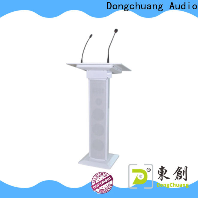 Dongchuang worldwide pa lectern system company for club