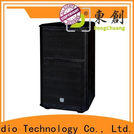 Dongchuang professional audio speakers supply for KTV