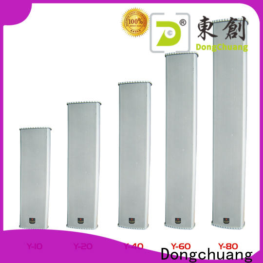 Dongchuang powered column speaker supply for professional use