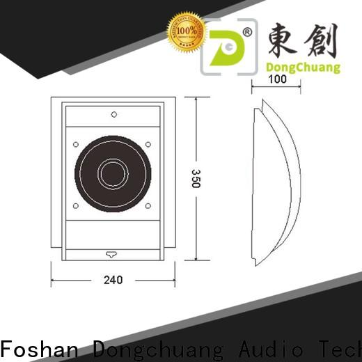 Dongchuang promotional home wall speakers company for professional use