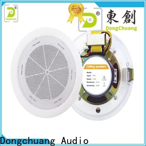 efficient ceiling audio speakers factory direct supply for good sound quality