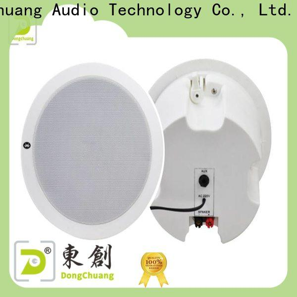 Dongchuang ceiling audio speakers best supplier for performance