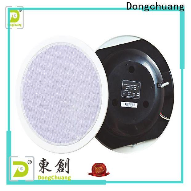 Dongchuang small ceiling speakers supplier for good sound quality
