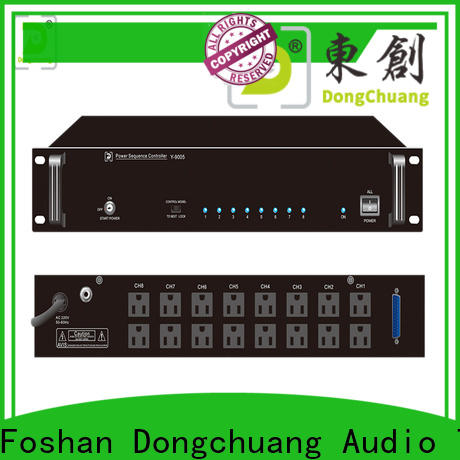 Dongchuang multi zone amplifier supply for concert