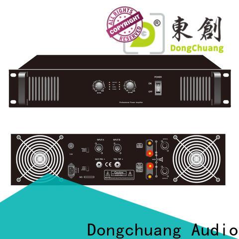 Dongchuang best professional amplifier series for karaoke