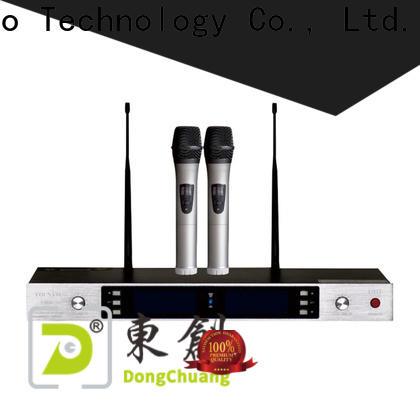 Dongchuang wireless microphone for laptop company for karaoke