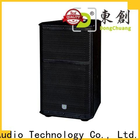 promotional professional dj speakers company for club