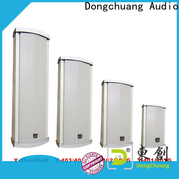 Dongchuang latest column speakers pa system best manufacturer for good sound quality