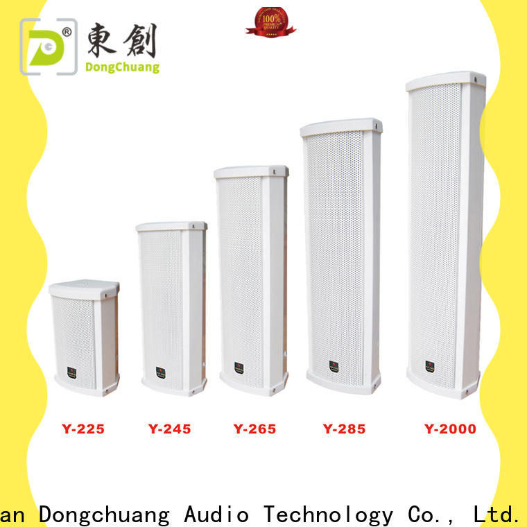 Dongchuang cost-effective column speakers pa system from China for performance