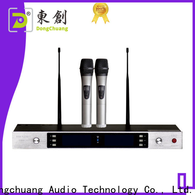 Dongchuang professional wireless microphone factory direct supply for business