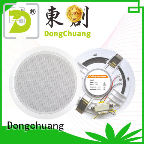 Dongchuang good quality directional ceiling speakers supplier for concert