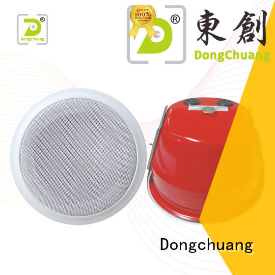 Dongchuang house ceiling speakers manufacturer for performance