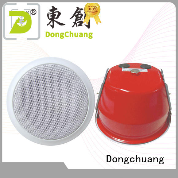 Dongchuang bluetooth ceiling speaker system supplier for concert