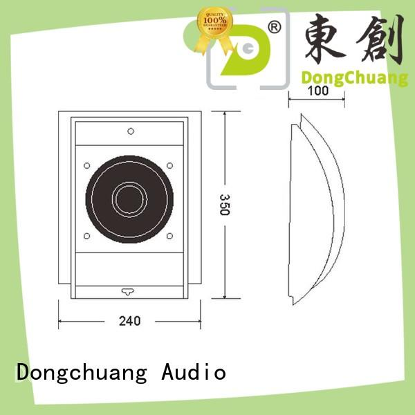 Dongchuang in wall speakers wholesale bulk production