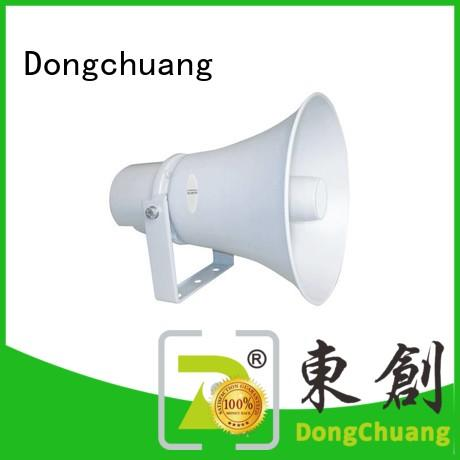 Dongchuang best price cheap horn speakers suppliers bulk production