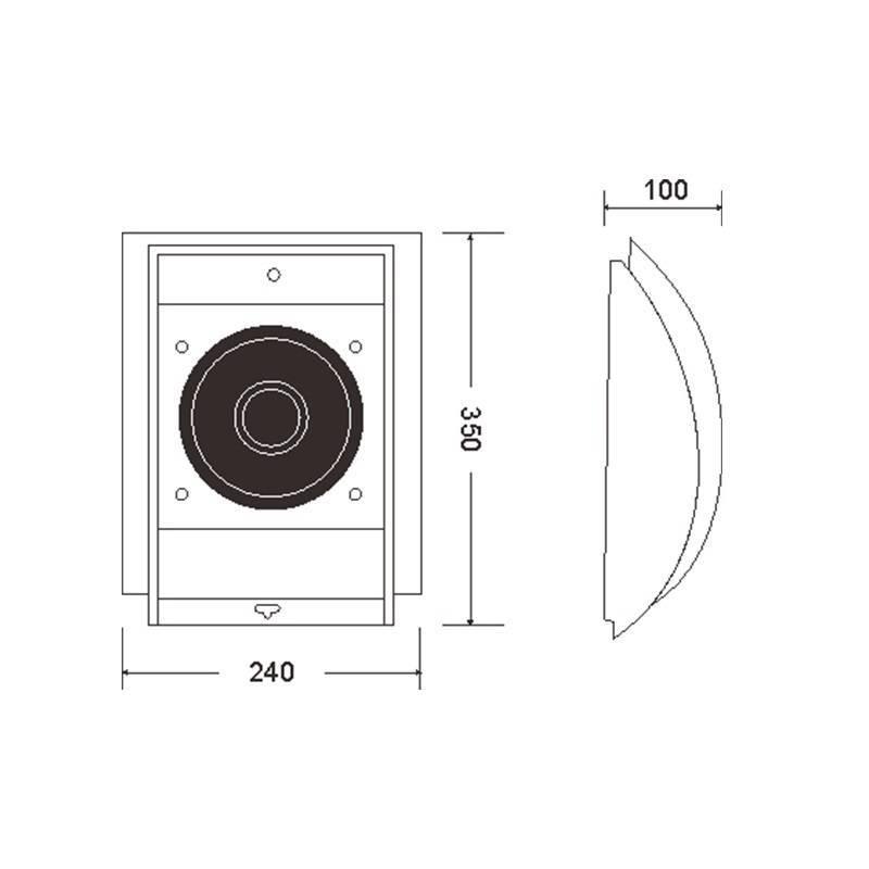 Hot selling Wall speaker Y-604C