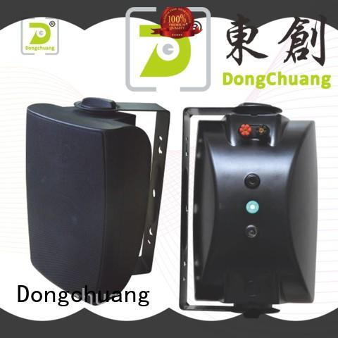 Dongchuang quality wall speakers for tv manufacturer for professional use