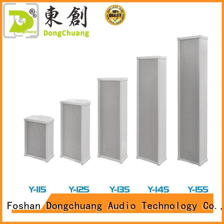 quality column and line array speakers from China for home use