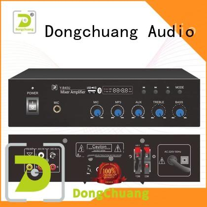 Dongchuang low-cost audio mixer amplifier from China for club