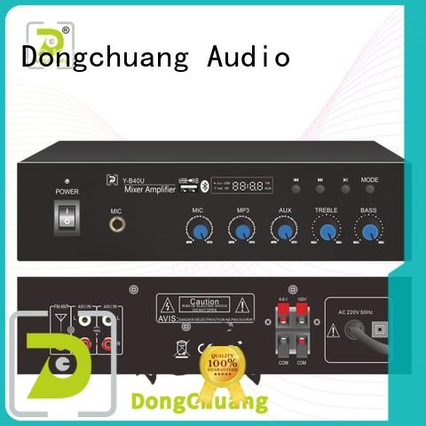 Dongchuang commercial mixer amplifier directly sale for professional use