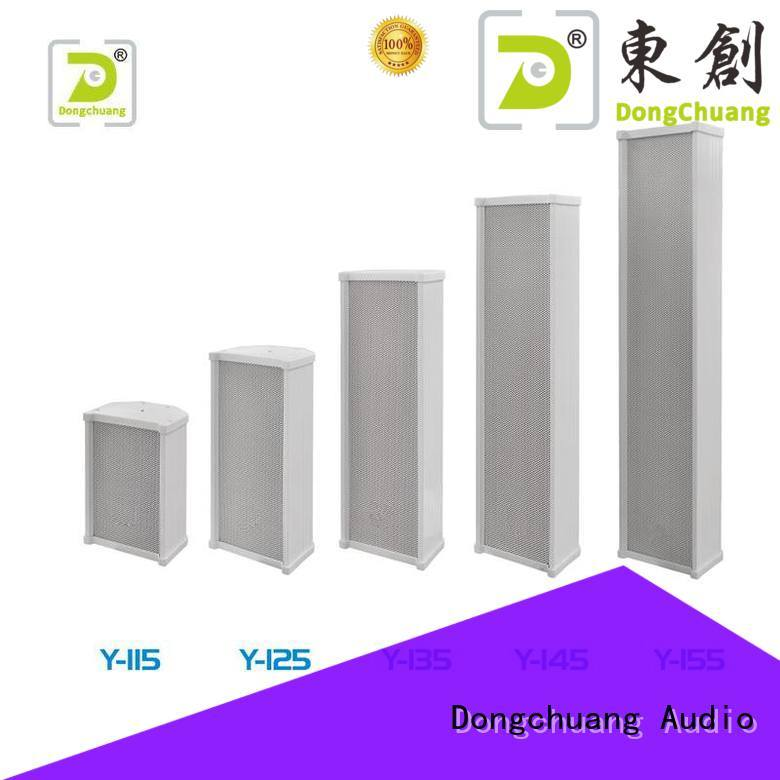 Dongchuang column loudspeaker best supplier for show
