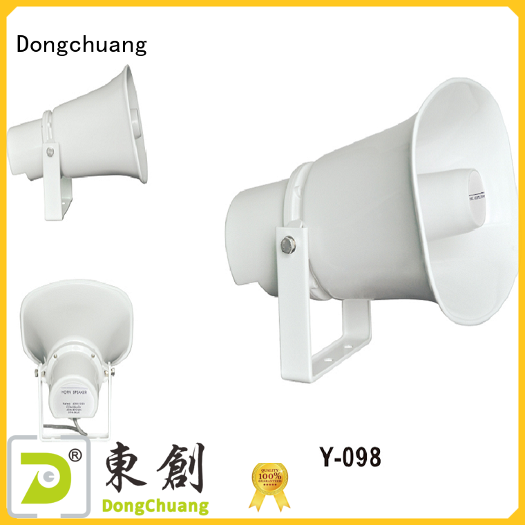 Dongchuang horn type speaker supply for concert