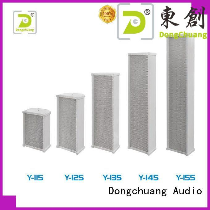 Dongchuang worldwide column line array speakers manufacturer for performance