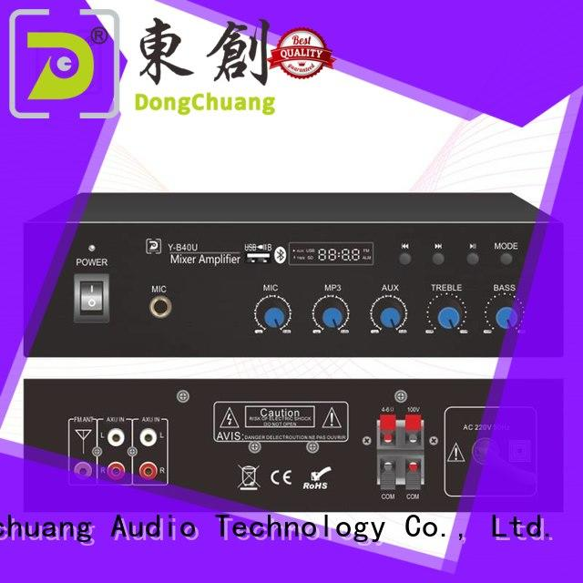 Dongchuang power mixer amplifier factory price for performance