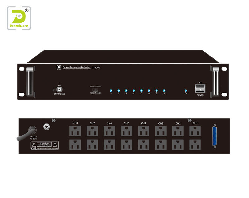 Power sequence controller public address system Y-9005