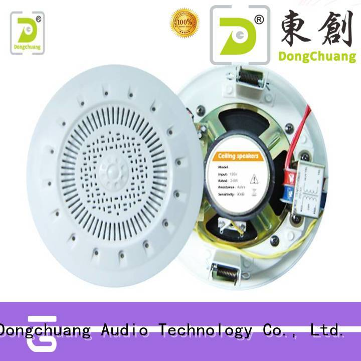 Dongchuang hot selling top ceiling speakers with good price for professional use