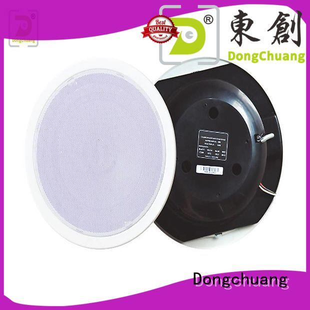 Dongchuang popular ceiling mounted wireless speakers supply for performance
