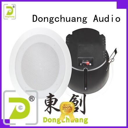 Dongchuang good quality powered ceiling speakers on sale for concert