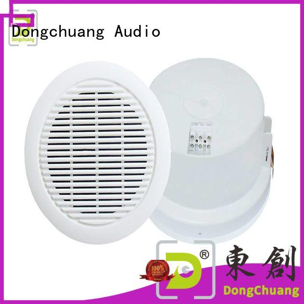 Dongchuang long lasting in wall ceiling speakers best manufacturer for home use
