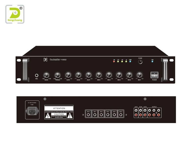 Pre-amplifier stereo preamplifier Y-9002