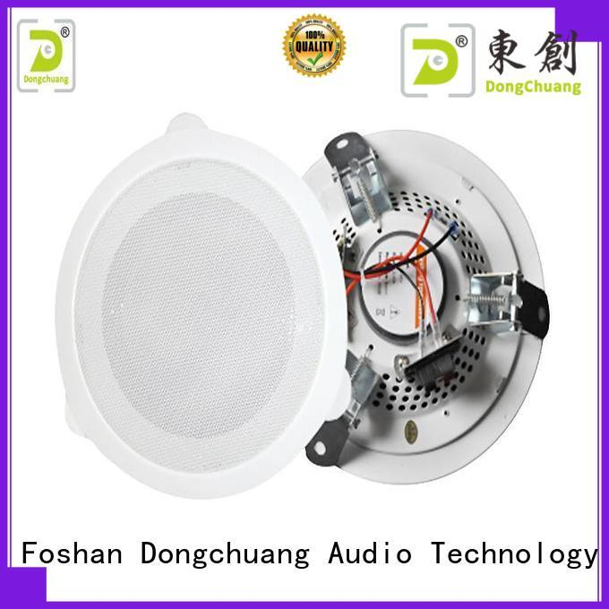 Dongchuang professional bathroom ceiling speakers factory price for professional use