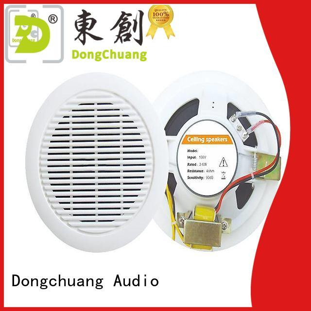 Dongchuang home ceiling speakers manufacturer for concert