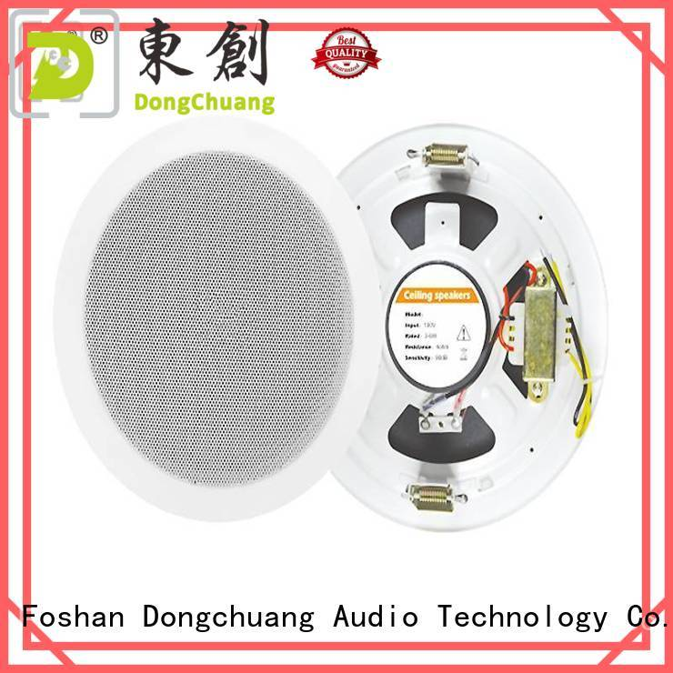stereo ceiling speaker system factory price for professional use