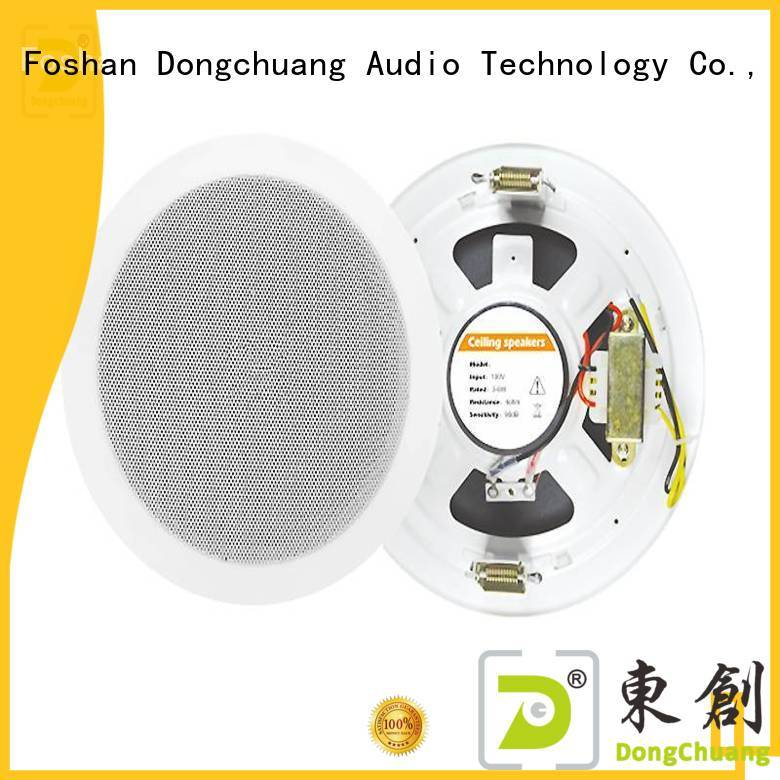 Dongchuang top quality home cinema ceiling speakers supplier for performance