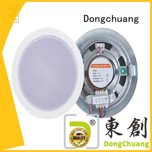 Dongchuang wholesale powered ceiling speakers manufacturer for home use