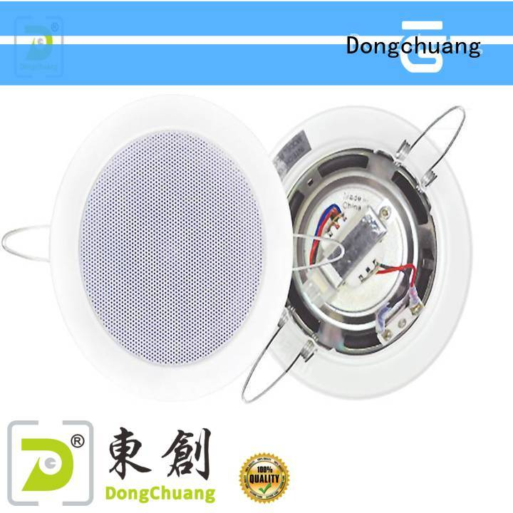 cheap best ceiling speakers supplier for good sound quality