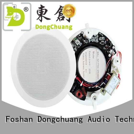 Dongchuang bluetooth ceiling speakers manufacturer for business