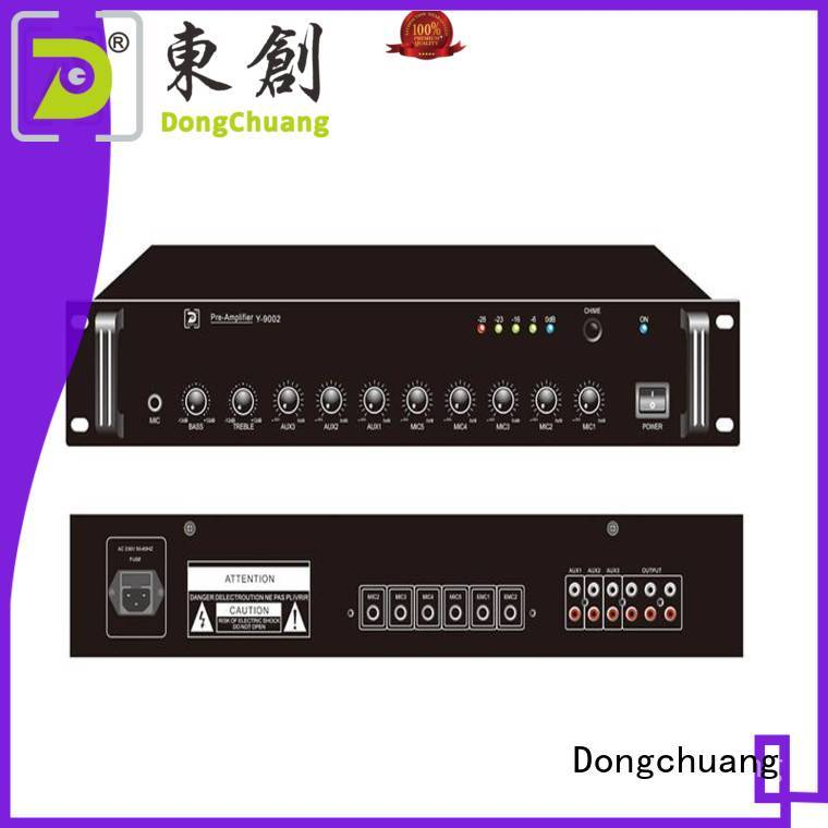 Dongchuang reliable stereo pre amplifier factory for performance
