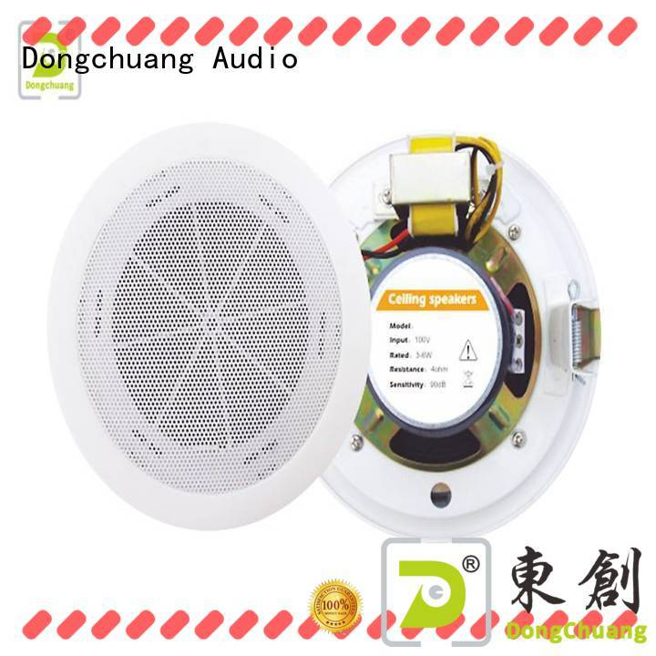 Dongchuang professional home ceiling speakers supplier for professional use