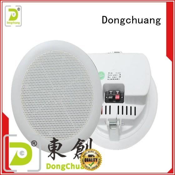 Dongchuang good quality home ceiling speaker system factory direct supply for professional use