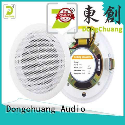 Dongchuang ceiling mount bluetooth speakers factory direct supply for home use
