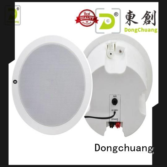 stereo ceiling mounted speakers factory direct supply for concert
